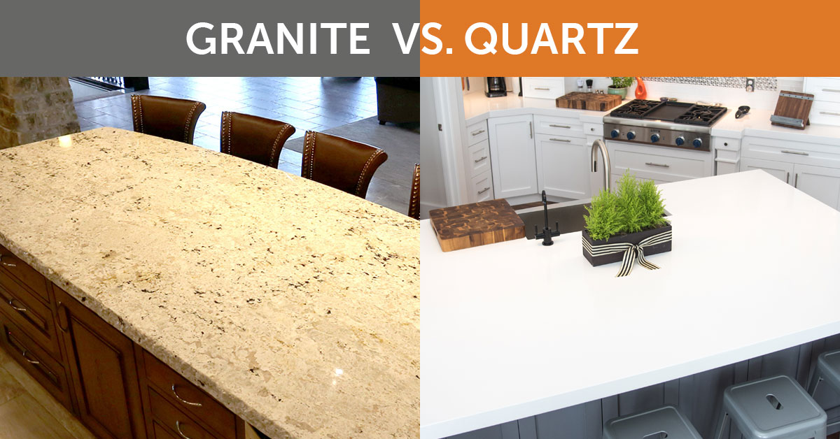 quartz vs granite